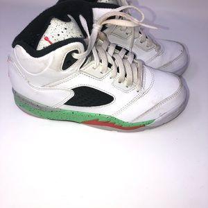 Nike air jordans retro 5 kid sneakers size 13c